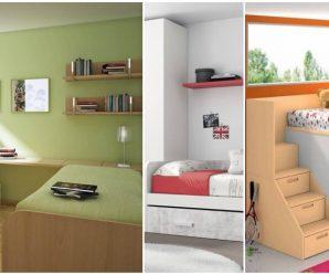 Optimiza tu habitación, con decoraciones modernas y juveniles