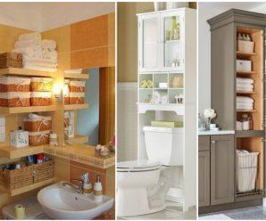 Útiles ideas para optimizar los espacios en tu baño