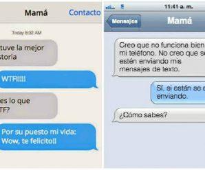 Diez Mensajes de WhatsApp Más Chistosos Enviados por una Mamá